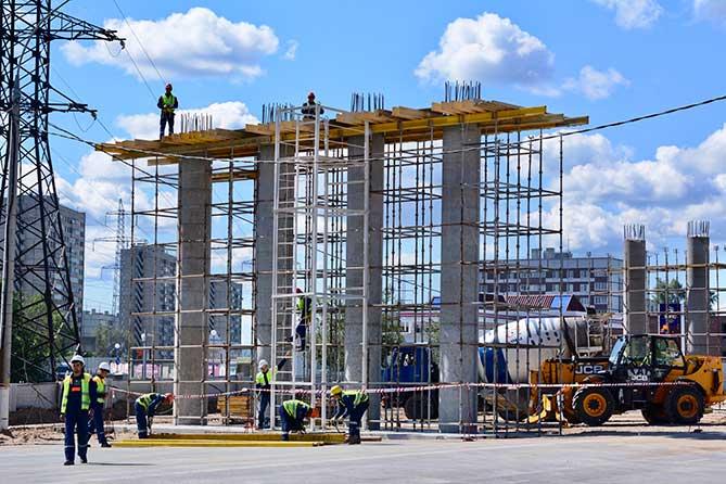 Развязка на М-5 в Тольятти: Строительство планируют завершить в конце 2019 года