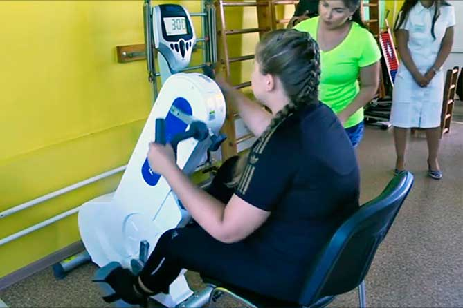 Новое оборудование для лечебно-реабилитационного центра «Ариадна»