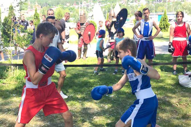 День бокса в Тольятти 22 июля 2018 года