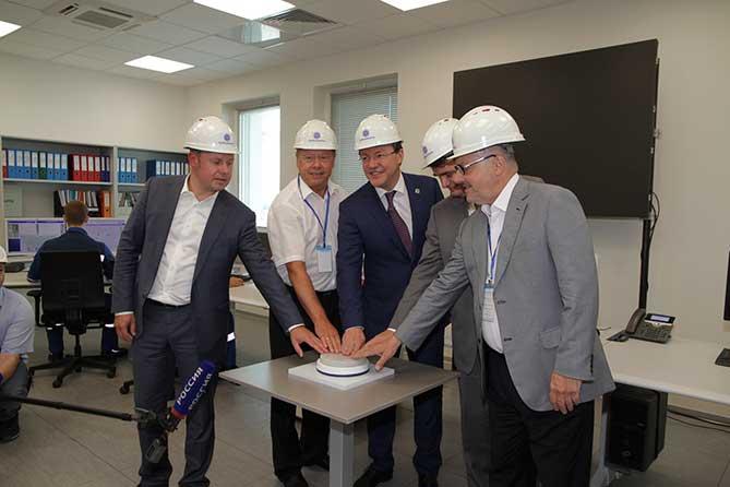 Linde Group и ПАО «КуйбышевАзот» запустили в Тольятти новое производство