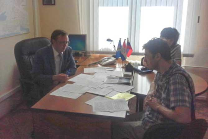 Председатель Думы Тольятти провел прием граждан