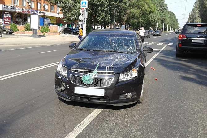 ДТП на Дзержинского: Пешеход госпитализирован