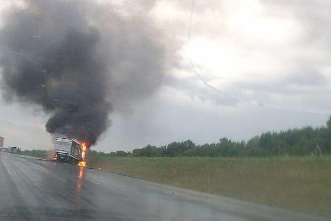 В ДТП на автодороге М-5 по предварительным данным погибли люди