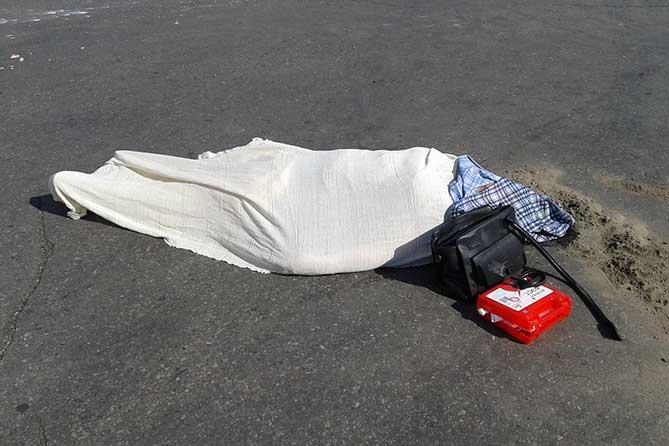 На улице Базовой водитель автомобиля сбил женщину