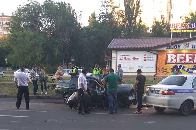 В ДТП на перекрестке улиц Мира и Карбышева пострадали пять человек