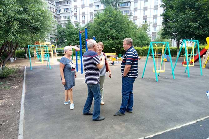 Дмитрий Азаров призвал тольяттинцев к активному участию в контроле качества благоустройства