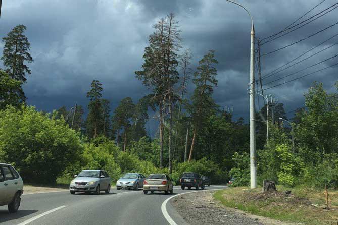 Погода в Тольятти с 3 по 6 июля 2018 года: Кратковременные дожди и грозы