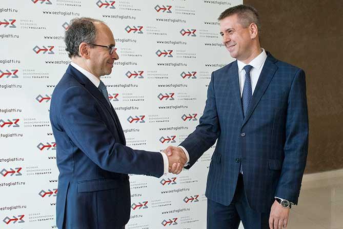 Президент АВТОВАЗа посетил особую экономическую зону «Тольятти»