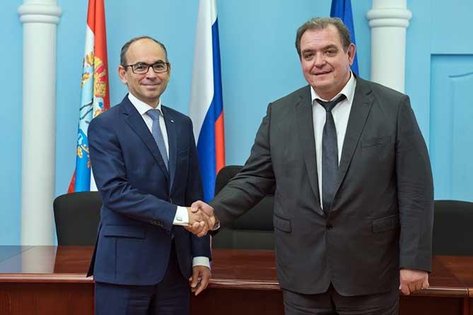 Встреча главы Тольятти с президентом АВТОВАЗа