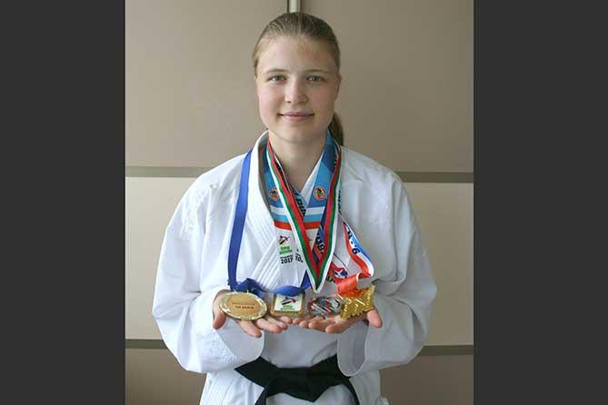 Школьница из Тольятти стала первой в истории российского карате обладательницей олимпийской лицензии