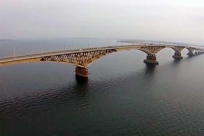 Мост через Волгу : Положительное заключение Главгосэкспертизы