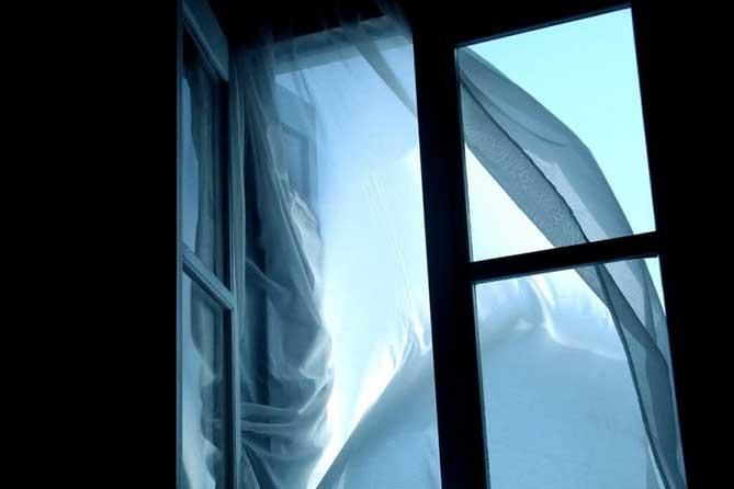 Жильцы дома услышали из окна голос одинокой соседки