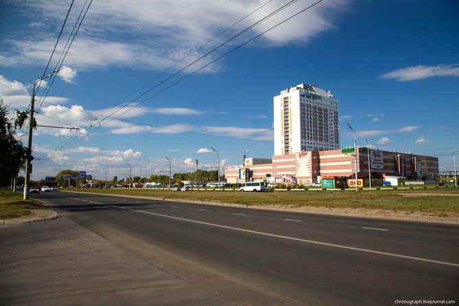 Строительство дорог-дублеров в Тольятти