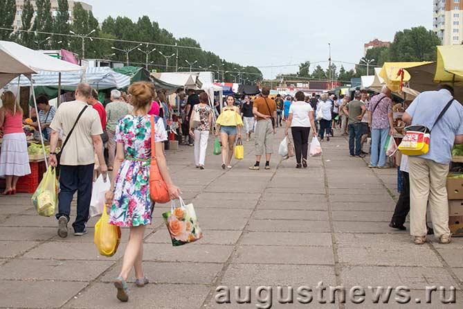 Ярмарка на Центральной площади: Намечаются изменения