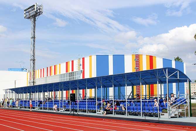 Стадион «Труд»: Новый корпус с раздевалками появится в октябре