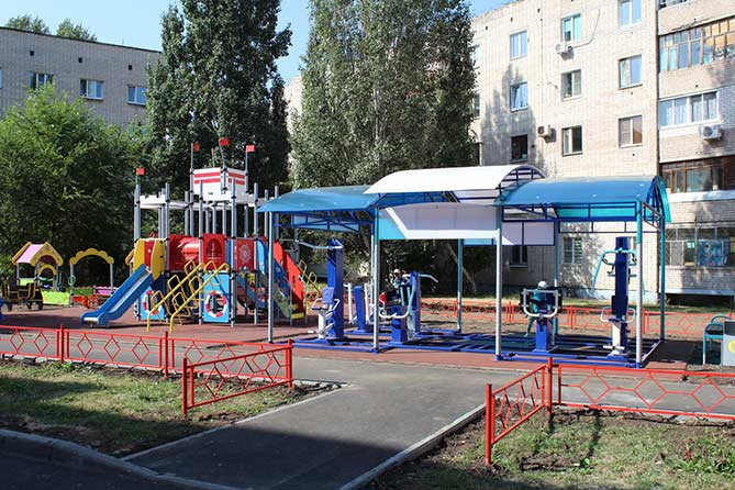 Более 7 миллионов рублей на устройство спортивных и детских площадок в Тольятти