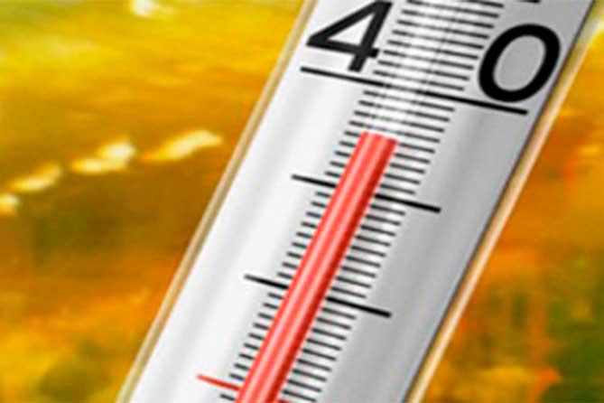 Экстремально-высокая температура воздуха в Тольятти