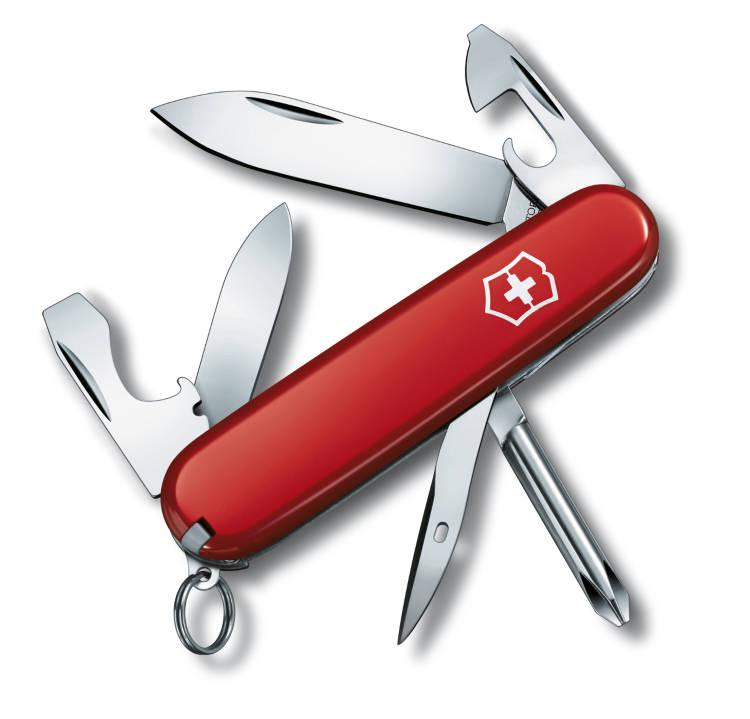 Широкий выбор швейцарских ножей