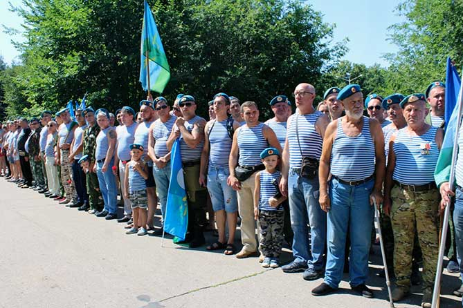 десантники на площади день вдв