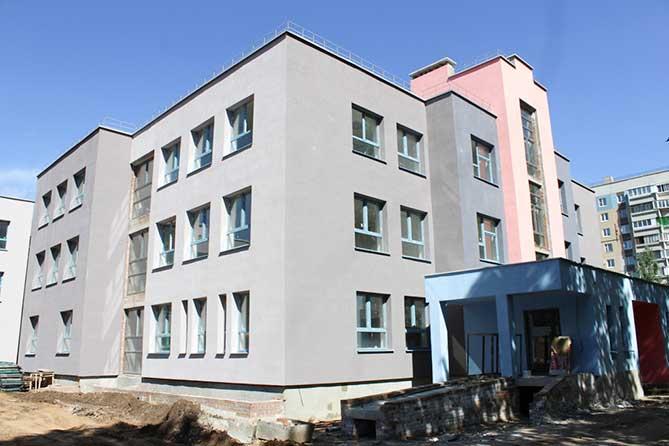 Новый детский сад «Ладушки» сдадут к концу сентября 2018 года