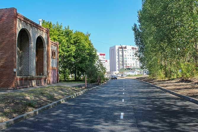 Ремонт дороги на бульваре Здоровья завершен