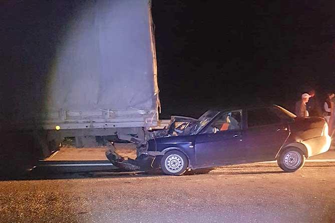Уснул за рулем: В ДТП пострадали четыре человека