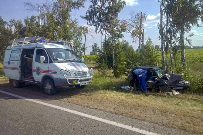 ДТП на трассе Тольятти — Новая Бинарадка со смертельным исходом