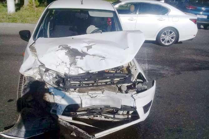 В ДТП на улице Лесной пострадала девушка