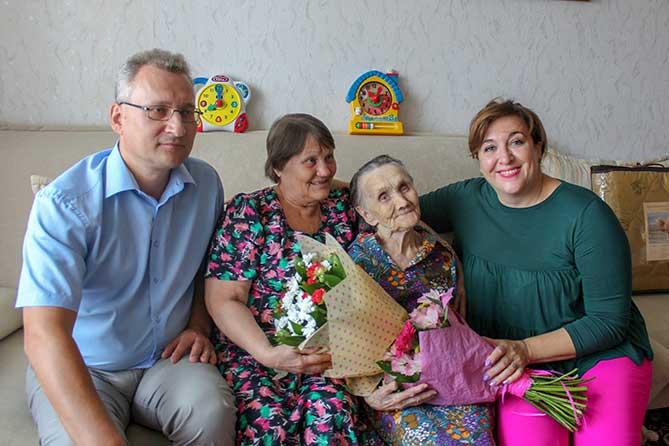 В Тольятти в настоящее время проживает 19 человек в возрасте 100 лет и старше