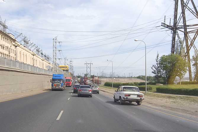 Дорога в районе ГЭС: Ситуация стабилизирована