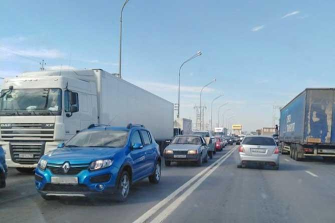 Ограничение движение большегрузов на М-5 с 8 сентября 2018 года