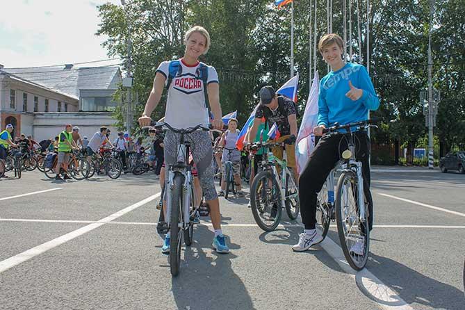 Велопробег прошел в Тольятти 26 августа 2018 года
