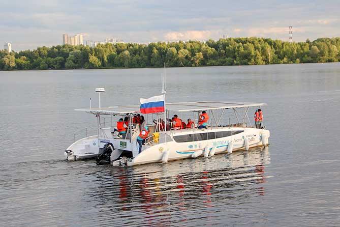 Фестиваль «Эковолна» в Тольятти: Жители увидят уникальный катамаран на солнечных модулях
