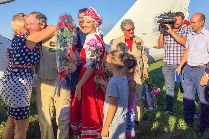 В Самарской области встретили участников уникальной арктической экспедиции