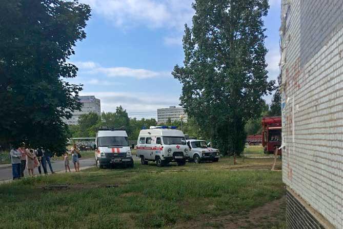 В доме на улице Свердлова произошел пожар