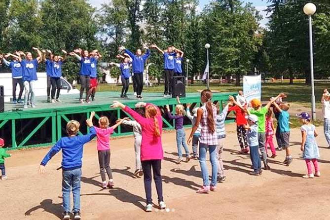 Проект «Яркие выходные Тольятти» продолжается