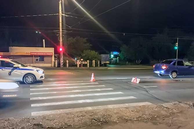 Вечером на улице Громой был сбит пешеход