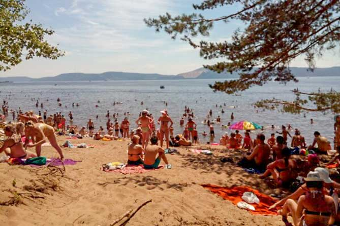 Роспотребнадзор настоятельно рекомендует ограничить купание на пляжах Тольятти