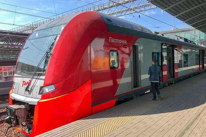 Тольятти-Курумоч-Самара: Скоростной электропоезд «Ласточка» курсирует в тестовом режиме