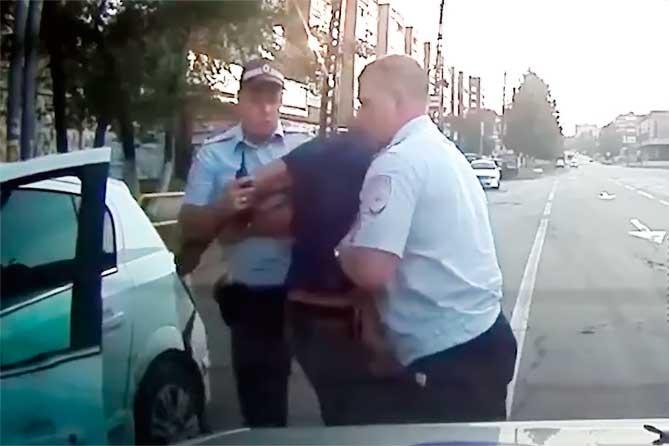 Погоня во дворах Комсомольского района Тольятти