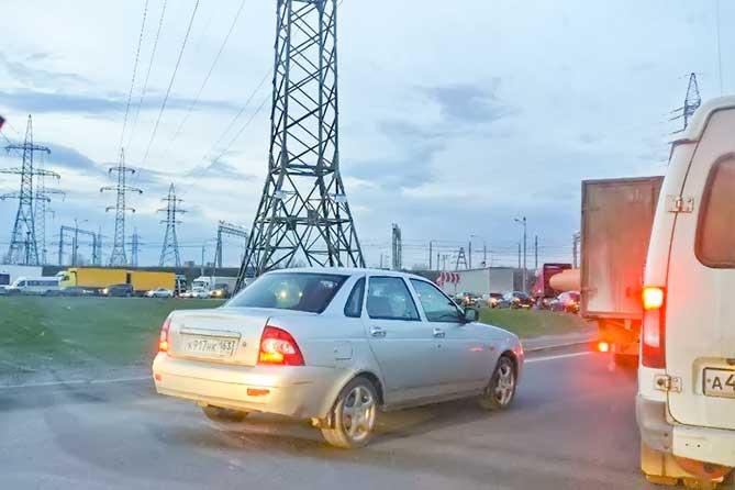 С 1 августа 2018 года снято ограничение движения большегрузов на М-5 в Тольятти
