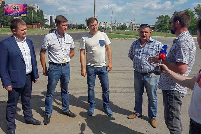 Ход проведения ремонта дороги по улице Свердлова в Тольятти