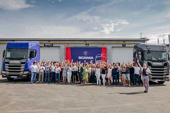Новая станция Scania рядом с Жигулевском