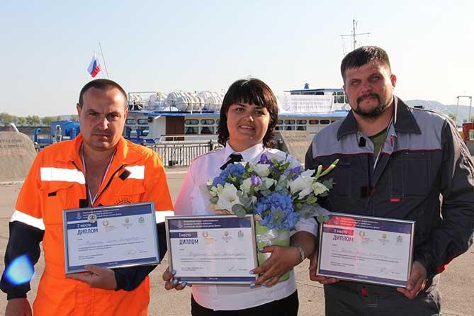победители конкурса 2018 Лучший матрос речного флота