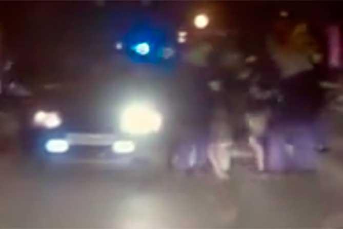 Погоня по ночным улицам Тольятти