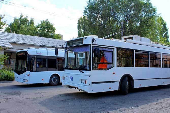 новые троллейбусы появились в городе