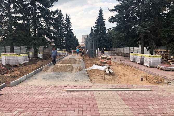 На Аллее Славы разместят фотографии людей и событий, прославивших Тольятти