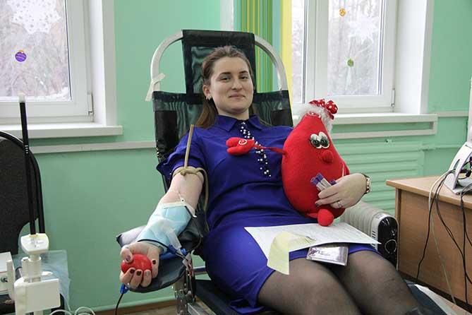 Молодежная акция по сдаче донорской крови 17 октября 2018 года