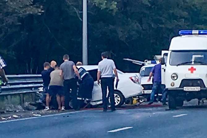 ДТП на М-5: Водители погибли, пассажиры госпитализированы