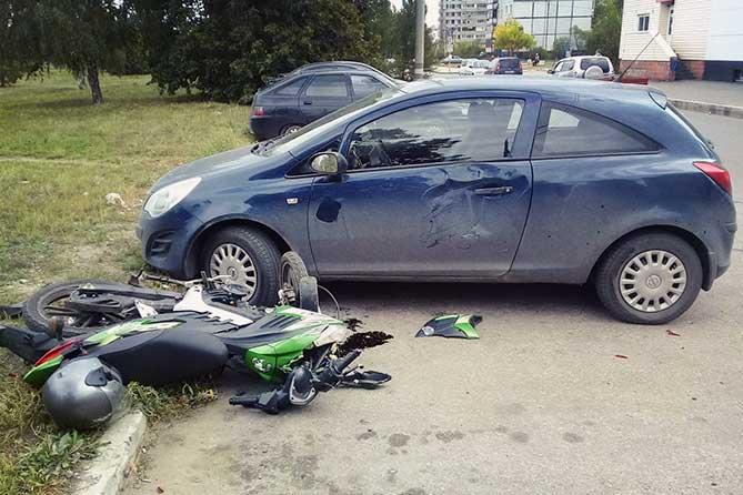В ДТП пострадал 17-летний водитель мопеда